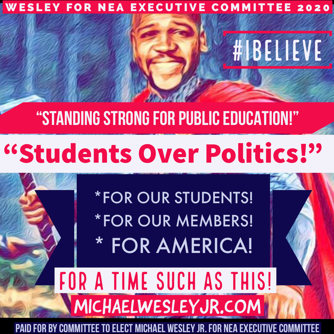 Standing Strong for Public Education! #iBELIEVE